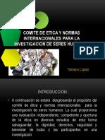 Comité de Etica y Normas Internacionales Para La
