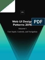 Uxpin Web Ui Design Patterns 2016 Volume