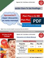 HV Claro Tv Sat Postpago 12 Marzo