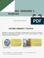 Factores humanos y tecnicos