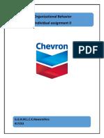 Chevron Lubrican Plc re structuring program