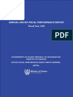 FY 1395 - Annual Macro Fiscal Performance Report