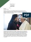 Discrsul Sf Parinte Papa Francisc Adresatdelagatiei Constantinopolului