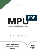 redação MPU