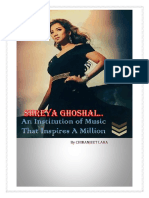 Shreya Ghoshal - An Institution of Music that Inspires a Million