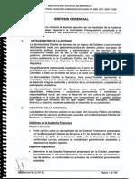 Informe de La Municipalidad de Barranco