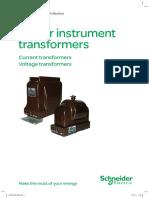 Schneider - Indoor Instrument Transformers