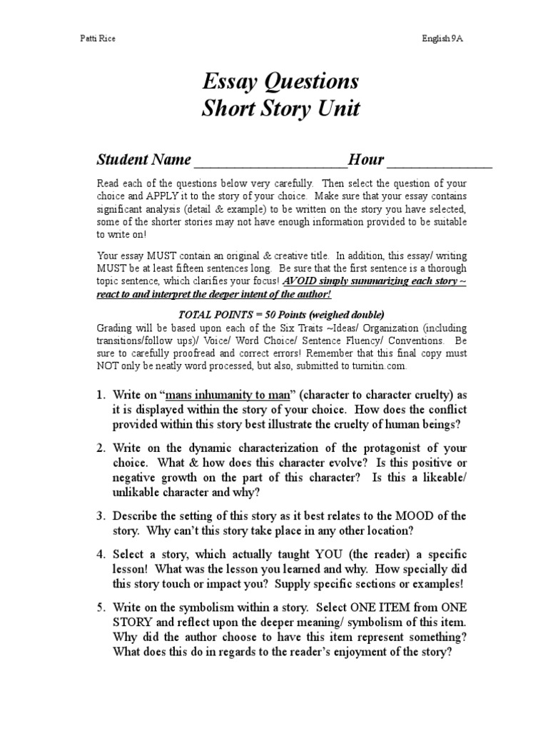 How to write a short story essay why us college essay