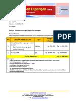 Harga Pengecatan Lapangan Tenis Tennokote 2017 | WA +62 857 1027 2813
