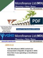 Microfinance Institutions Uganda