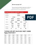 Soi Cau Ket Qua XSMB Hom Nay Ngay 12-07