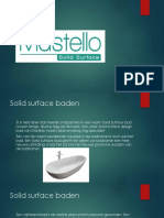 Mastello - Solid Surface Baden