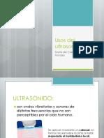 Usos Del Ultrasonido