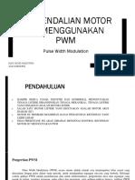 Kontrol Motor Dc Menggunakan Pwm
