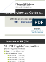 UPSR BIP 014 2017