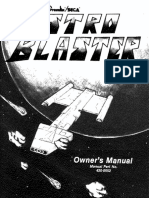 Astro Blaster Owner's Manual