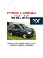 [FORD] Manual Inyeccion Electronica Ford Escort 18