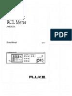 Fluke PM6303a User Manual