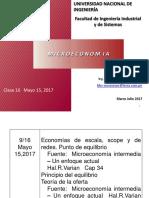 Clase 16 Economias de Escala Mayo 15