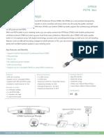 Yealink CPN10 IP to Analogue Converter Datasheet