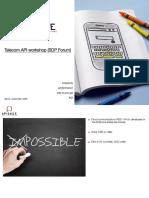 Telecom APIs Workshop
