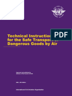 ICAO TI_Doc 9284 Technical Instructions for the Safe Transport of Dangereous Goods by Air Ed 2009_2010