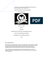 contoh laporan magang