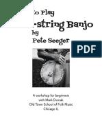 Banjo Playing by JA