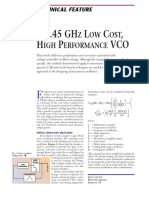 Carlini,Journal,A 2.45 Ghz Low Cost High Performance Vco