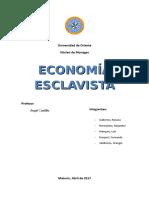 Ensayo Sobre La Economia Esclavista2