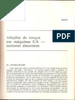 Cap.8 Relações de Torque Em Máquinas CA - Motores Síncronos
