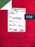 Phetkarini Tantra 5570 Alm 25 Shlf 3 Gha Devanagari - Tantra
