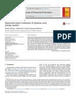Regression-based estimation of dynamic asset pricing models