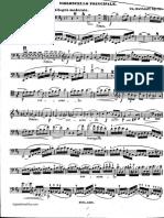 Davydov, Karl Juljewitsch - Cello Concerto No.3, Op.18 in D Major (Cello Part)