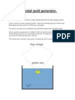 Generator Aur Coloidal