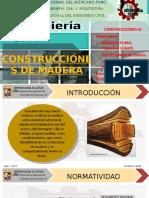 Obras de Madera - EXPOSICIÓN N°1