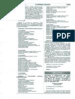 APRUEBAN EL REGLAMENTO DEL TEXTO ÚNICO ORDENADO DE LA LEY 28303