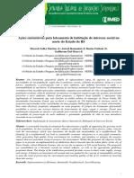 Ações Sustentáveis Para Loteamento de Habitação de Interesse Social No Norte Do Estado Do RS
