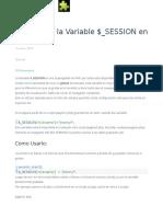 $_SESSION en PHP