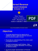 Deferred Revenue Year-End Presentation May 2008