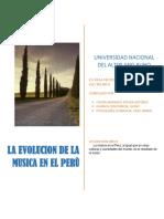 Evulucion de La Musica en El Peru