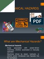 Mechanical Hazard Material Handling