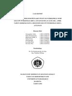 Case Report Puskesmas Griya Antapani 2016