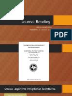 Jurnal Reading- Algoritma Skizofrenia