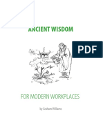 Ancient Wisdom for Modern Work Places