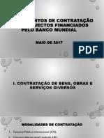Procedimentos de Contratação Para Projectos Financiados Pelo Banco