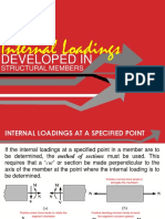 3_Internal Loadings Developed in Structural Members