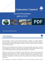 Pennar Industries q4fy17 Investor Presentation Final