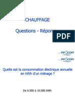 CHAUFFAGE Questions Réponses