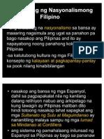 Nasyonalismong Filipino